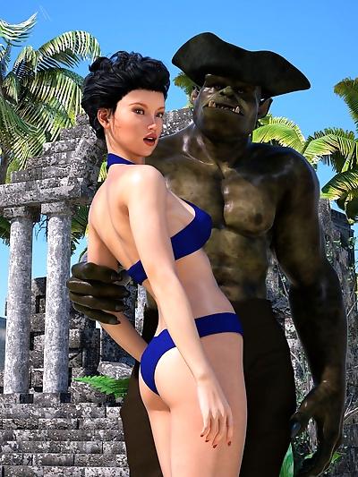Sorceress Lori- Beach Day..