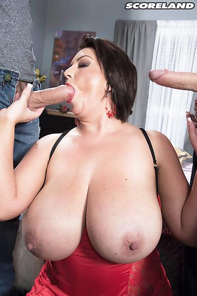 Mature fatty Paige Turner..