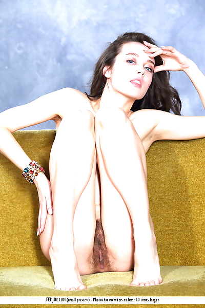 Gorgeous dark haired Marla O..