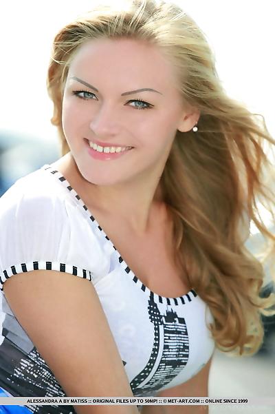 Sexy teen girl Alessandra A..