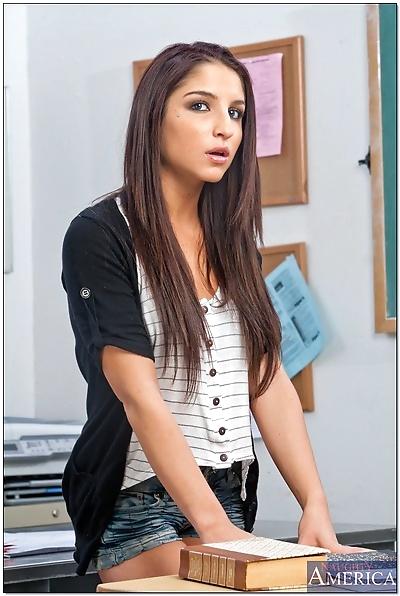 Stunning latina teen babe..