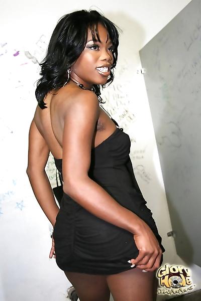 Beautiful all natural ebony..