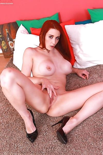 Flaming hot redhead Isabella..