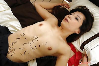 Japanese schoolgirl Nonoka..