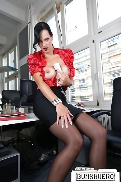 Hot and dangerous secretary..