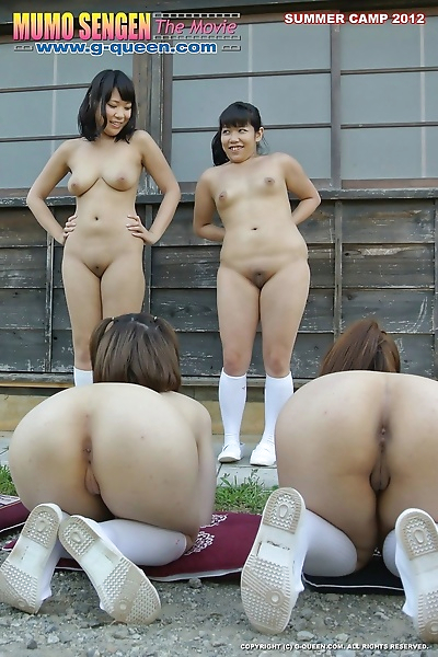 Young japanese shaved girls in summer traning - part 2866