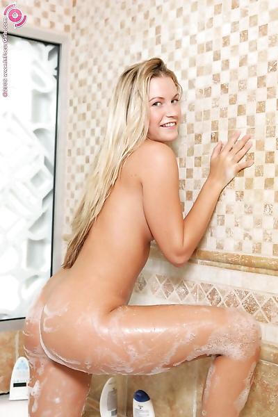Watch gorgeous blonde angel..