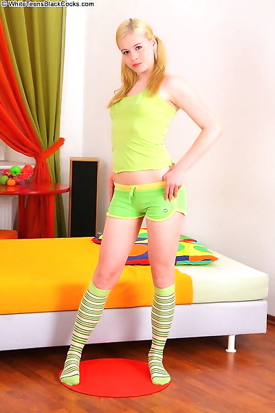 Beautiful teen blonde..