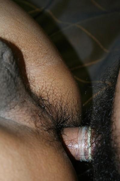 Unshaved Thai lady-boy Ning..