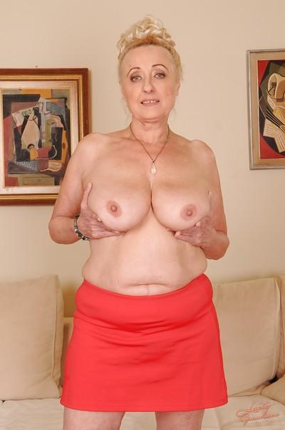 Lecherous granny with..