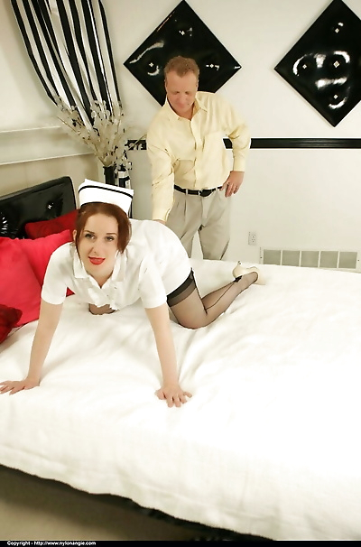 Naughty nurse Dirty Angie..