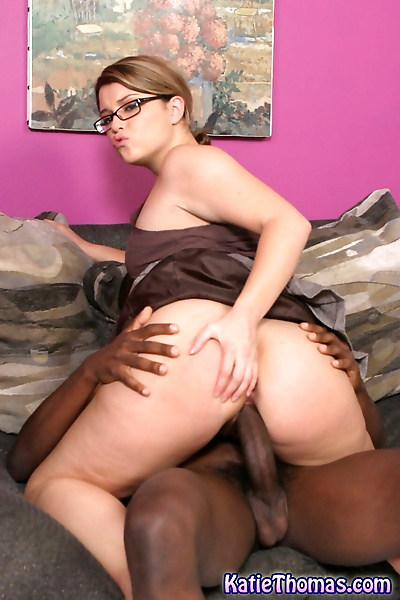 Nerdy white girl Katie..
