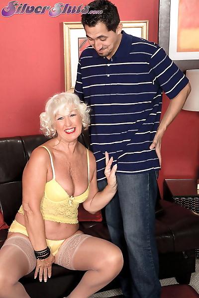 Horny grandma Jeannie Lou..